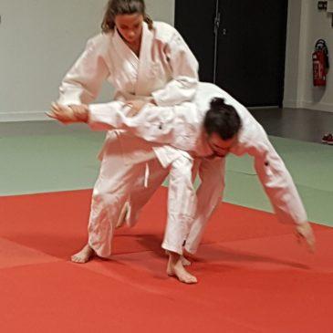 21 février – Échanges sur le tatami avant les vacances