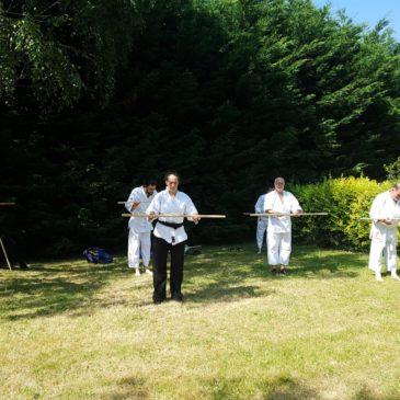 4 Juillet 2018 dernier cours d'aïkido de l'année