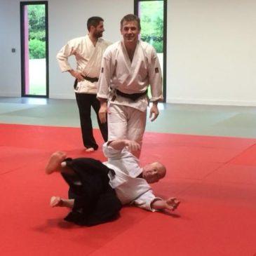 Premier stage d'aïkido à Plougoumelen