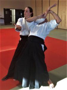 Morgane FALLON Professeur aïkido dojo de Plougoumelen