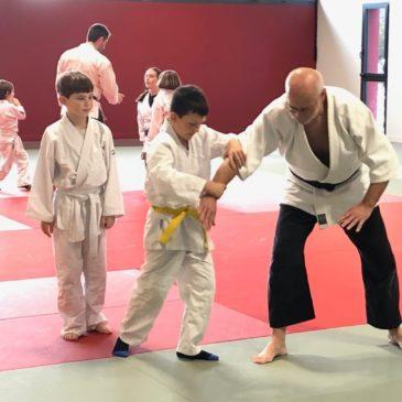 Stage aïkido enfants et adultes 23 novembre 2019