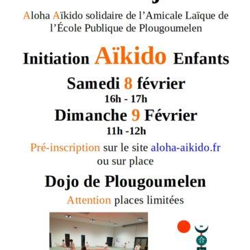 Weekend animations jeunes – Cours initiation aïkido enfants – 8 et 9 février 2020