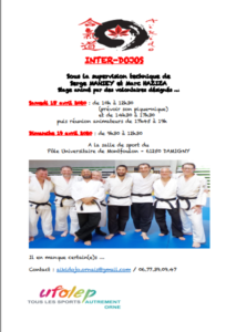 Communication inter-dojos 2020 Damigny