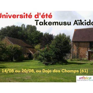 Université d'été 2021 en Normandie